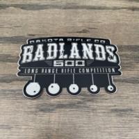 Badlands 600 Decal