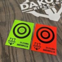 Dakota Rifle Self Adhesive Targets