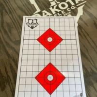 Dakota Rifle Paper Targets